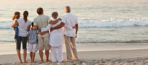 IRA Family on Beach